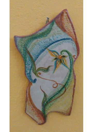 Orologio - Artigianato sardo di Ceramiche Volo