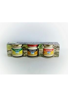 Crema di formaggio Sepi - Tre barattoli