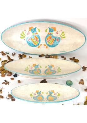 Set vassoi sardi-Ceramiche Kera Pinta
