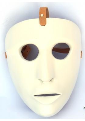 Maschera Issohadore in legno di ontano-Artigiano Mameli