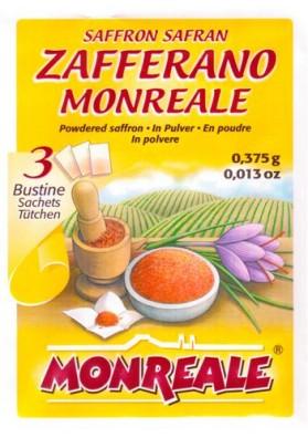 Zafferano Monreale - 3 bustine in polvere