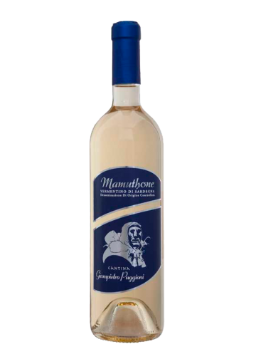 Wine vermentino Mamuthone - Cantina Puggioni Mamoiada