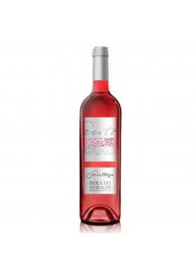 Santesu rosato wine - Cantina di Dolianova