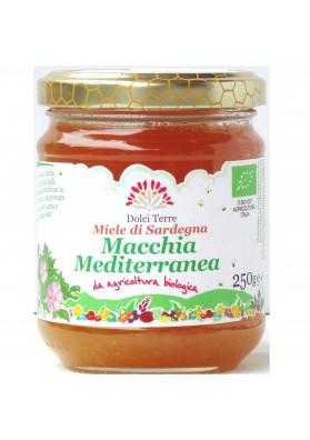 Miele biologico di macchia mediterranea (millefiori) - Apimed
