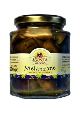 Melanzane sarde sott'olio bio - Bontà del Sole