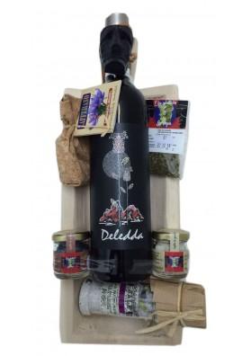 "Gift box ""Mamoiadino"" - Sardinian typical products"