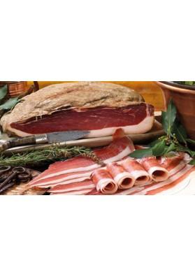 Prosciutto sardo salumificio Puddu - Oliena