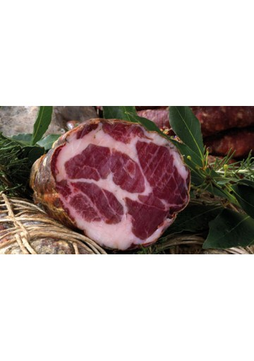 Sardinian seasoned pork shoulder - Salumificio Puddu