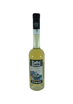 Sardinian drink with helichrysum liqueur - Caru Orgosolo liquori
