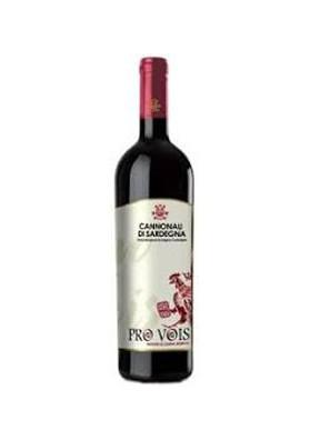 Vino cannonau nepente di Oliena Riserva ProVois Cantina Puddu