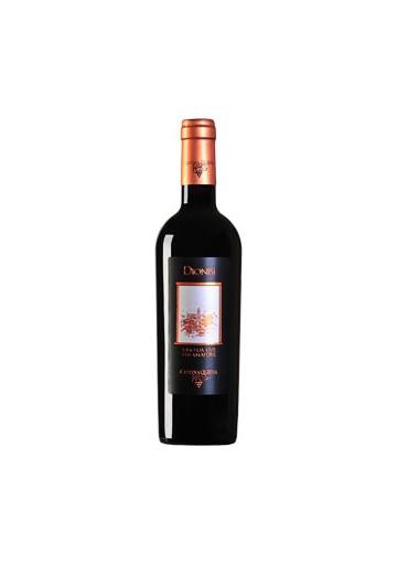 Vino Dionisi cannonau di Sardegna DOC riserva nepente di Oliena - Cantina Sociale