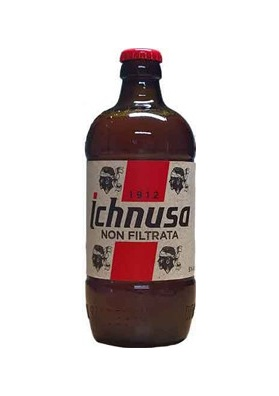 Birra sarda Ichnusa non filtrata 50 cl.