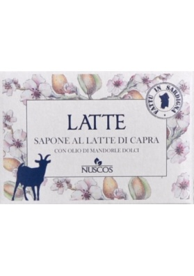 Sardinian natural soap - goat's milk - Nuscos