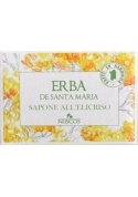 Sardinian helichrysum natural soup - Nuscos - sapone naturale all'elicriso