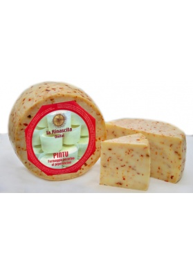 Formaggio pecorino sardo aromatico al peperoncino Pintu - Cooperativa Rinascita Onifai