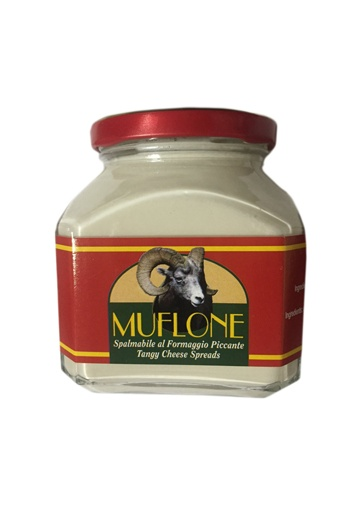 Crema di pecorino sardo spalmabile piccante Muflone - Dorgali