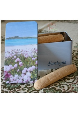 Girf sardinian box with cookies