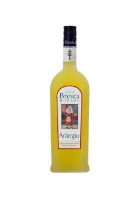 Orange liqueur - Bresca dorada.