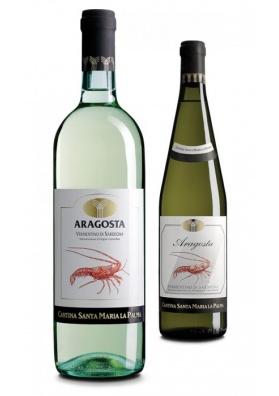 Vino Aragosta - Vermentino di Sardegna Santa Maria la Palma
