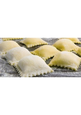 Sardinian ravioli of ricotta and spinach
