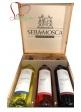 Cofanetto degustazione in legno 3 bottiglie di vino - Sella&Mosca