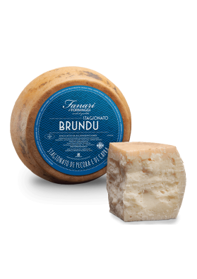 Matured cheese of sheep and goat - Brundu