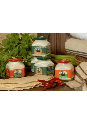 Crema di pecorino spalmabile piccante Muflone (barattolo da 300 gr.) - Dorgali