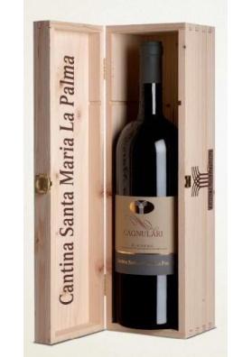 MAGNUM Vino Cagnulari con confezione in legno - Cantina Santa Maria la Palma