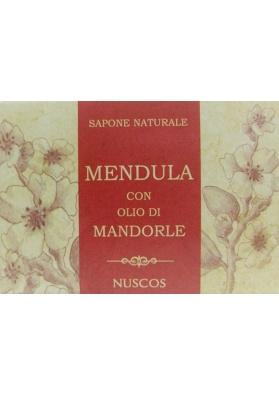 Sapone sardo naturale con olio di mandorle - Nuscos