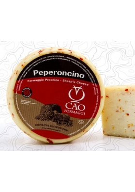 Pecorino with hot chili pepper - Cao