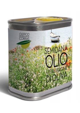 Olio extravergine di oliva fruttato medio - Oleificio Corrias