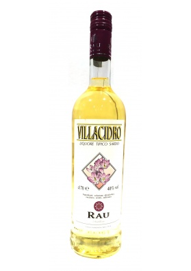 Villacidro - liqueur seasoned with saffron