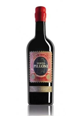 Liquore di mirto rosso Pilloni - Silvio Carta