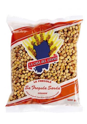 Sardinian Fregola pasta (big) - La Casa del Grano