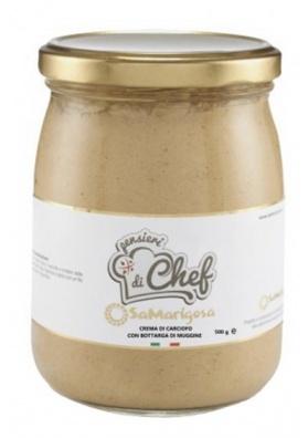 Crema di carciofo sardo con bottarga 500 g - Sa Marigosa