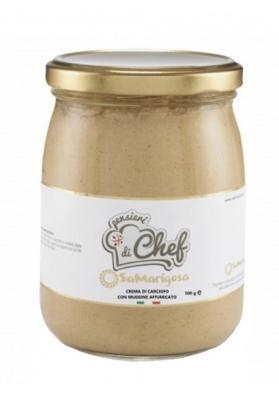 Artichoke cream and smoked mullet 500 g - Sa Marigosa