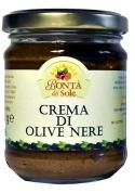 Crema di olive nere - Bontà del Sole