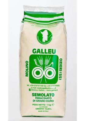 Ground durum wheat semolina - Galleu