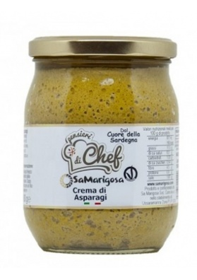 Sardinian asparagus's cream 500 gr. - Sa Marigosa