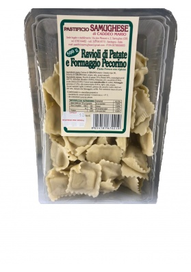 Sardinian ravioli with potato and pecorino (500 gr.)