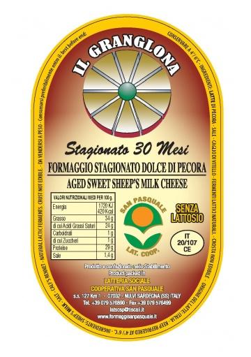 Pecorino sardinia cheese Granglona