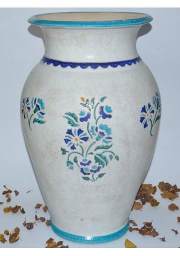 Portaombrelli in ceramica sarda ceramiche kerapinta - Portaombrelli in ceramica bianca ...