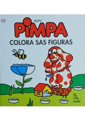 Pimpa- Colora sas figuras. Pimpa - colora le figure