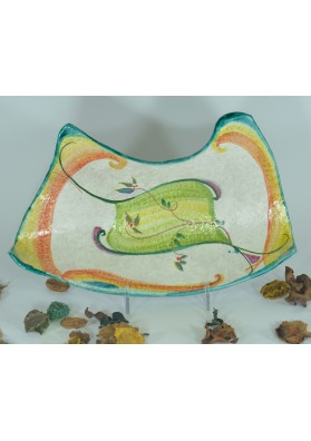 Piatto Ornamentale - Artigianato sardo di Ceramiche Volo