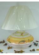 Lampada da tavoloa cipolla - Artigianato sardo di Ceramiche Volo