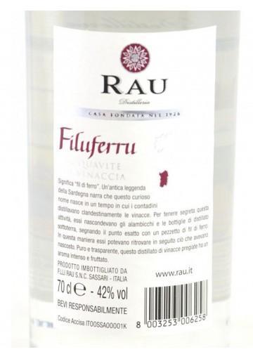 Filu e ferru - DIstillato di Sardegna Rau