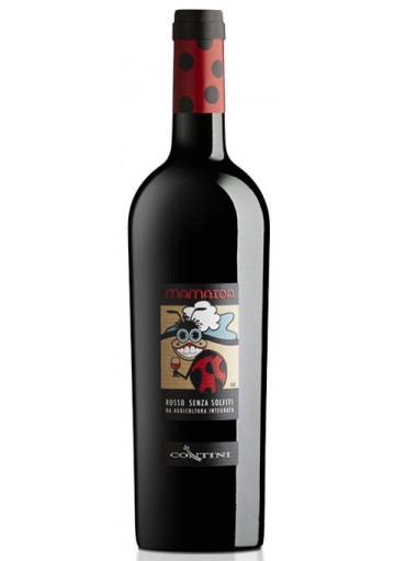 Vino Mamaioa rosso - Cantina Contini
