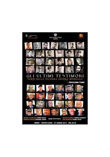 Gli ultimi testimoni - DVD Sardi nella Seconda Guerra Mondiale