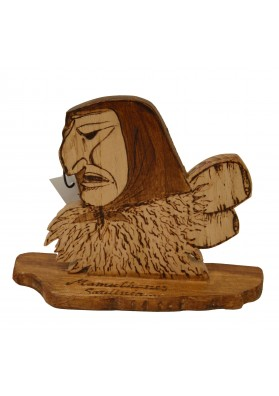 Oggettistica Satodà - Mamuthone in legno